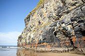 Tall Cliffs Of Ballybunion On The Wild Atlantic Way