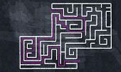 Labyrinth pattern
