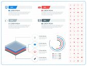 Vector Abstract Infographic Design In Flat Style With Icon Set