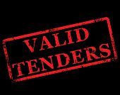 Valid Tenders Stamp