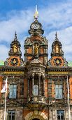 image of city hall  - View of Malmo City Hall in Sweden - JPG
