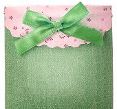 Blue Gift Bag With Bow