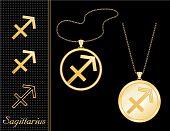 Sagittarius Medallion & Pendant