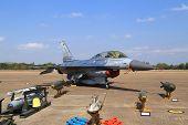 F-16 Show On Children's Day At Korat Wing 1 Royal Thai Airforce