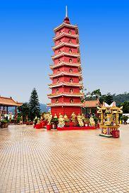 stock photo of tin man  - Ten Thousand Buddhas Monastery  - JPG