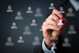foto of labourer  - Marketing segmentation and targeting - JPG