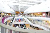 pic of department store  - Blur background with bokeh light of Department store interior or Shopping Center - JPG