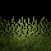 image of pixel  - abstract square pixel mosaic background  - JPG
