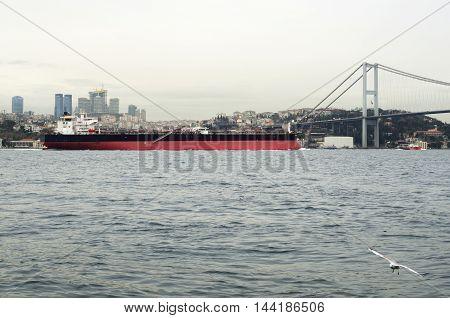 Petrol Tanker ship