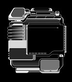 Web Design Template  01  Invert
