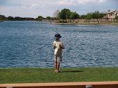 Boy Fishing 2