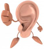 stock photo of ear  - Ear - JPG