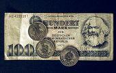 Постер, плакат: Vintage Ddr Banknote