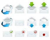 stock photo of internet icon  - Email icons - JPG