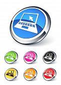 ícone de computador
