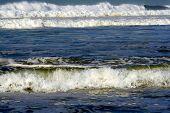 Abstract Wonderful Angry Sea