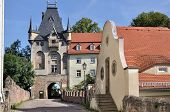albrechtsburg's gate, meissen