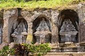Bali. Indonesia.Temple-tomb of imperial family . Gunung-Kavi