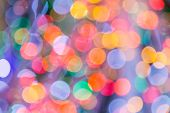 Bokeh Light Vintage Background, Defocused Bokeh Lights, Bokeh With Multi Colors, Festive Lights Boke poster