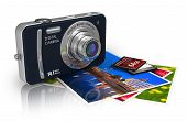 Compact Digital Camera And Photos