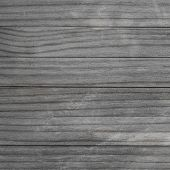 Blank Wood Pattern Wall With Grain And Scratches. Weathered Wood Rustic Background. Grey Brown Color poster
