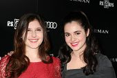 LOS ANGELES - OCT 18:  Melissa Farman, Vanessa Marano arriving at the PS Arts 20th Anniversary Event