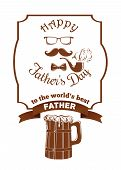 Banner For The Celebration Of Fathers Day poster