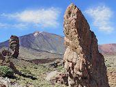 Roques de Garcia com El Teide