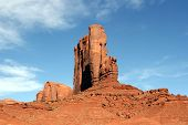Butte In Monument Valley