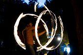 Fire jugglers