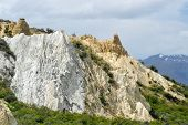Panoramic Landscape Of The Beautifully Colorful Mountains In The South Western Region Of The South I poster