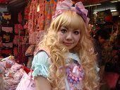 Blonde Japanese Lolita