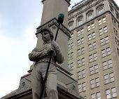 Civil war memorial in Lancaster,Pa