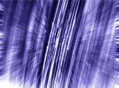Dark Blue Matrix 3d Zoom Blur
