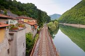 Railway Along The River