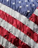 stock photo of betsy ross  - The stars and stripes of America - JPG