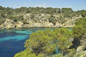 image of bottomless  - Beautiful landscape water and clouds mallorca spain - JPG