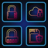 Set Line Sd Card And Shield , Safe Combination Lock , Safe Combination Lock And Cloud Computing Lock poster