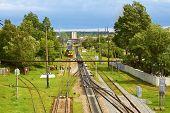 Infrastructure On Railroad Branching. Lviv, Ukraine
