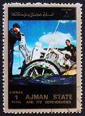 Postage stamp Ajman 1973 Gemini Recovery