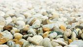 abstract background with round peeble stones.