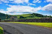 picture of suny  - Yorskshire Dales on a beautiful suny day - JPG