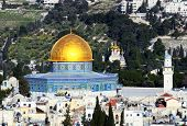 Dome of the Rock in Jerusalem, Israel