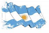 Grange bandera Argentina