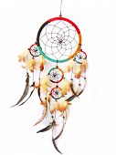 stock photo of dreamcatcher  - A red - JPG