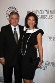 LOS ANGELES - OCT 22:  Leslie Moonves, Julie Chen arrives at  the Paley Center for Media Annual Los