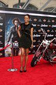 LOS ANGELES - APR 11:  Aisha Tyler arrives at