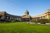 ST.PETERSBURG, RUSSIA - MAY 21: Kazan Cathedral or Kazanskiy Kafedralniy Sobor in May 21, 2012 in St