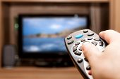 Controle remoto TV