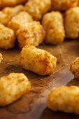 Organic Fried Tater Tots